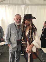Jack Sparrow Mr.Gibbs Kevin McNally ジャックスパロウ ケビン・マクナリー