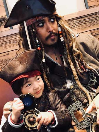 Jack Sparrow ジャックスパロウ Jack the Magician ジャックマジシャン USJ