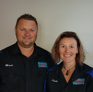 Macca and Janelle from Darfield Auto
