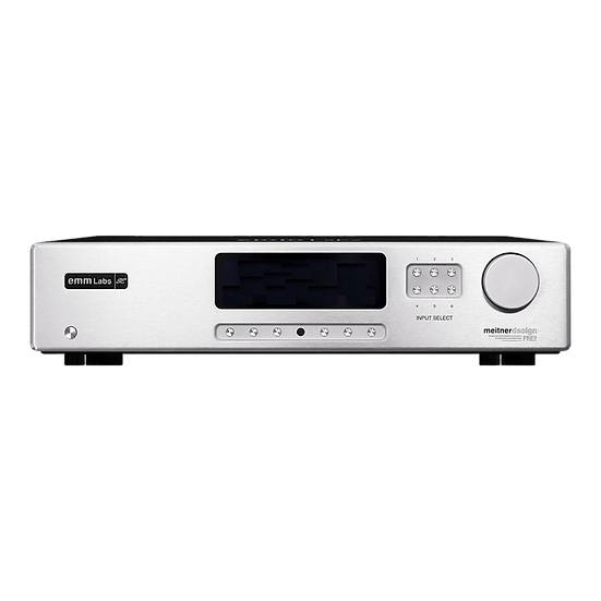 EMM LABS⎮ PRE2 - Stereo Preamplifier