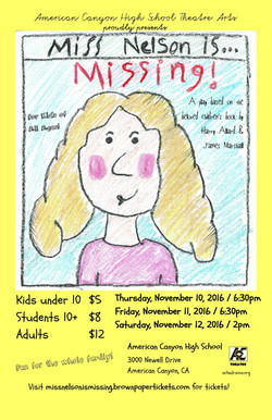 Miss Nelson is Missing! poster