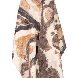 ultrafine merino shawl
