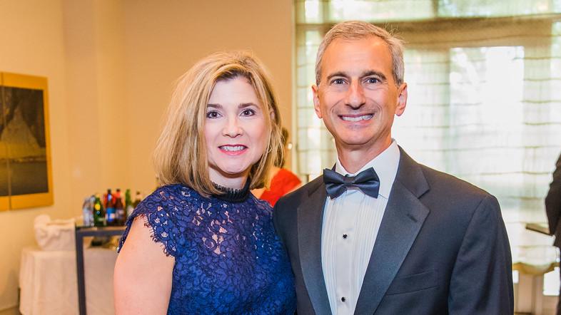Annette Nader, Tony Nader. Photo by Alfr