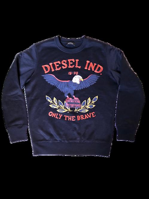 Moletom Preto Diesel