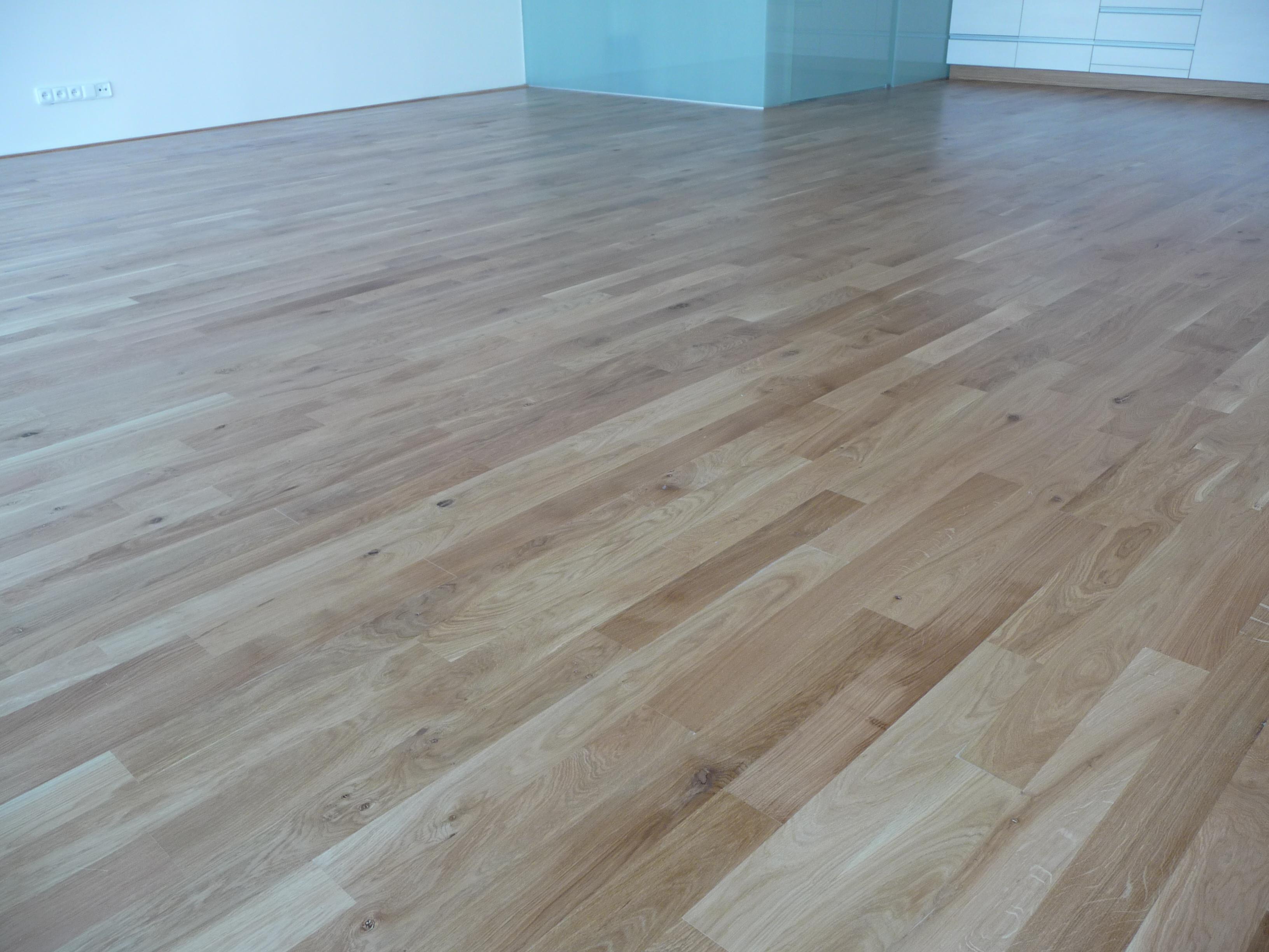 Dubová olejovaná podlaha