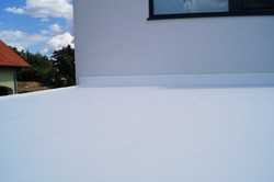 Střecha pergoly bez sklonu