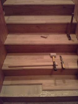 Dřevěné schody Nymburk