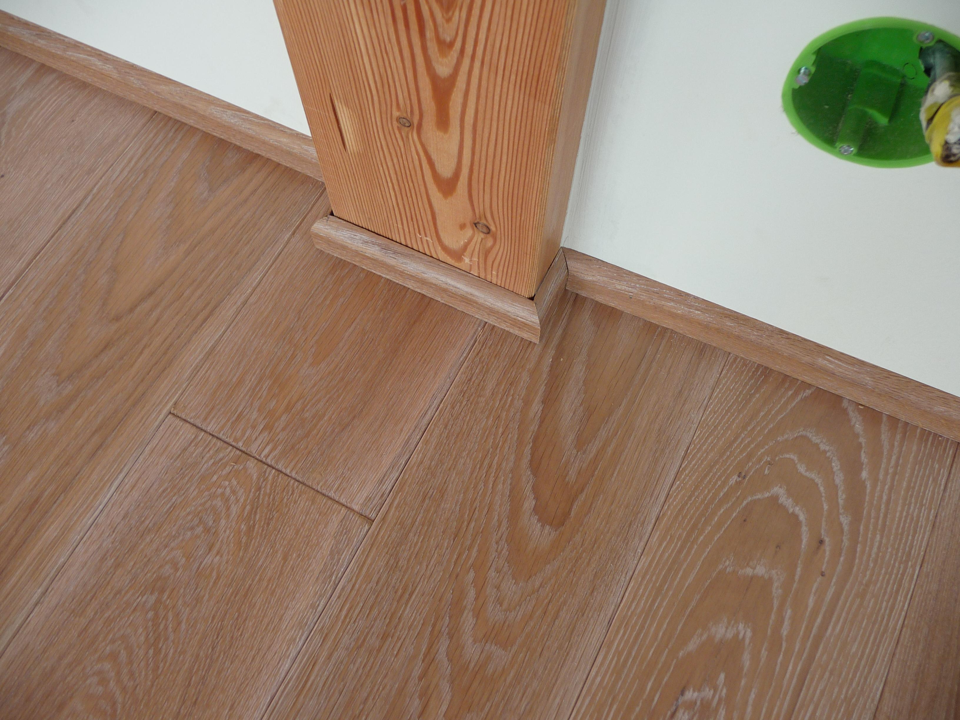 Zalištování dřevěné podlahy