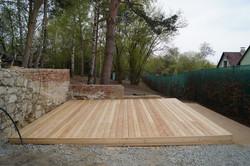Sokl dřevěné terasy