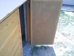 Dřevěné okenice křídlové