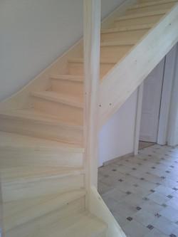 Dřevěné schody Kolín