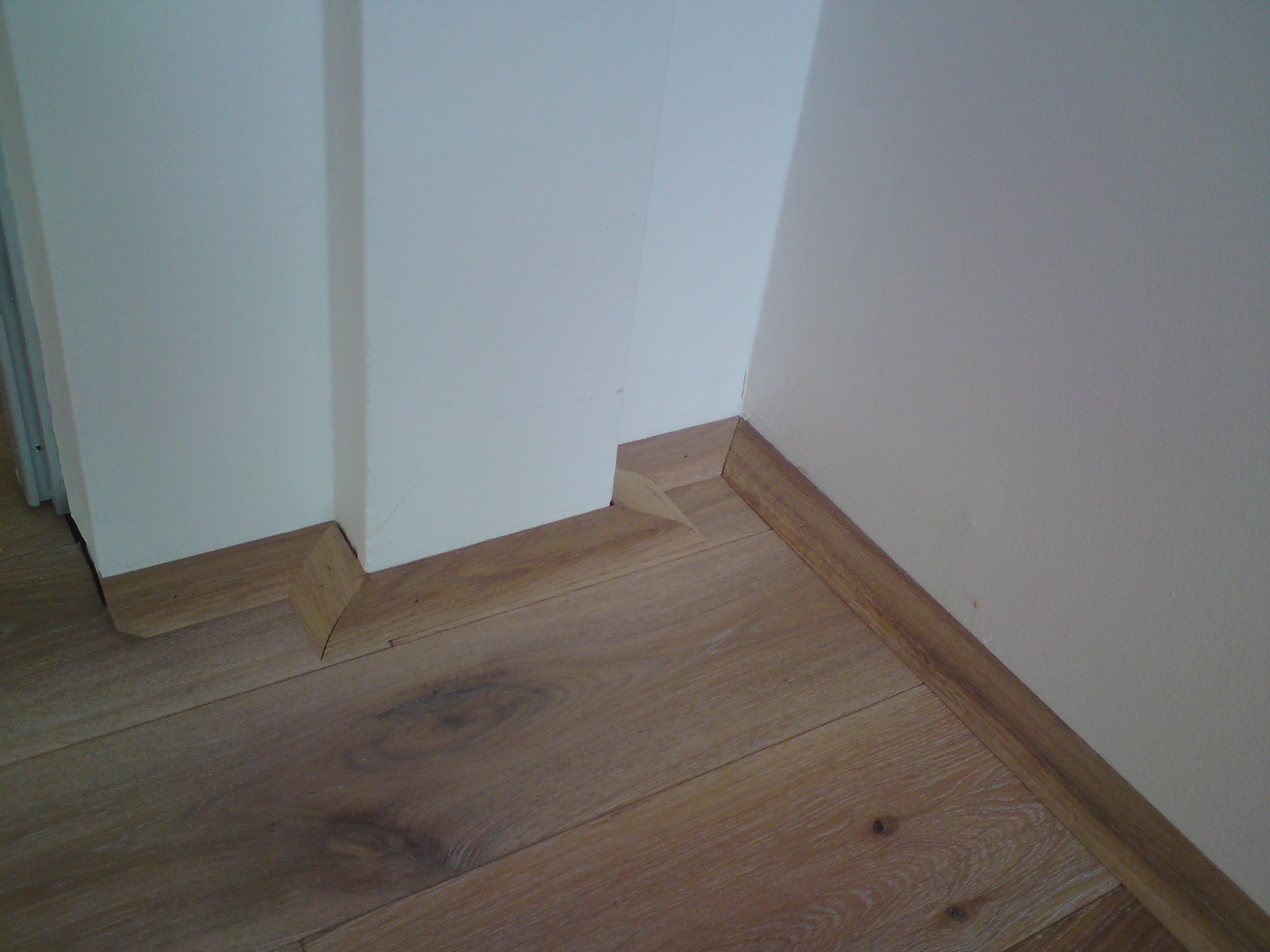 Lištování dubové podlahy jak na to