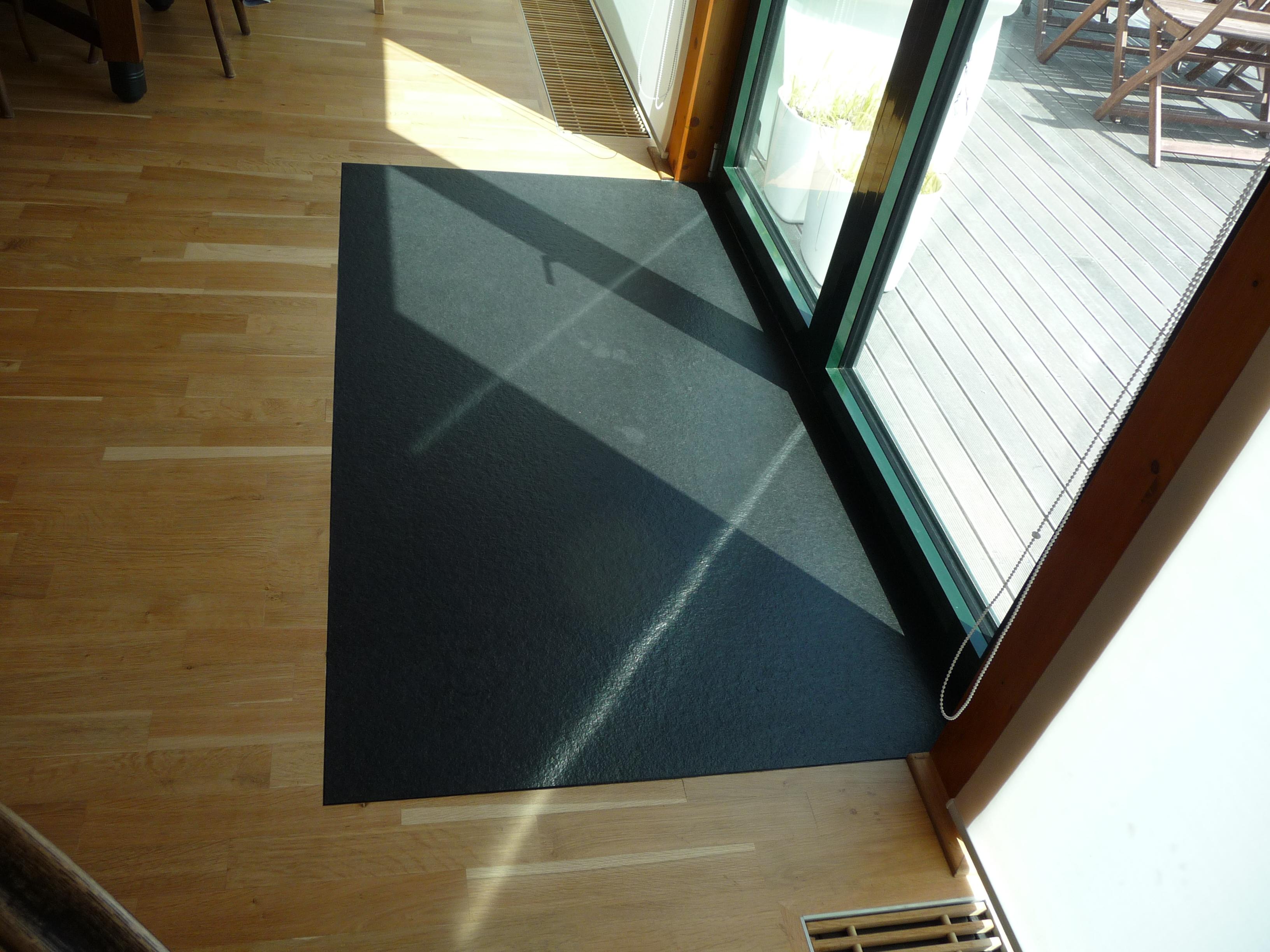 Dodatečné zapuštění kamene do podlahy