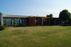 Moderní bydlení v zahradě