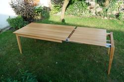 Dubový stůl rozkládací 28