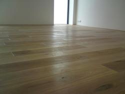 Inspirace dřevěná podlaha bílý olej
