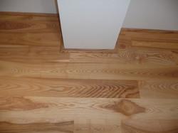 Detail zalištování dřevěného sloupku