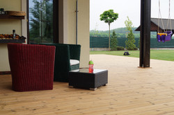 Dřevěné terasy Nymburk Sokoleč