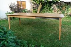 Dubový stůl rozkládací 24