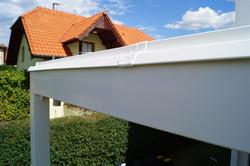 Svařovaná PVC folie na pergole