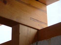 Konstrukční detail dřevostavby
