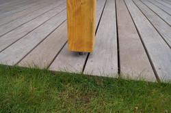 Kotvení pergoly do dřevěné terasy , kotvení pergoly betonové základy Náchod