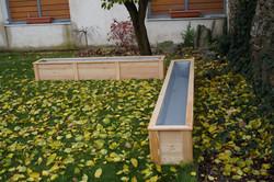 Zahradní truhlík z modřínu