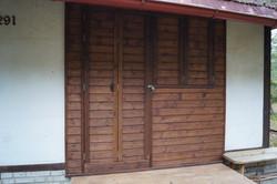 Dřevěné obložení chaty