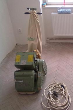 Bruska na podlahy Hummel