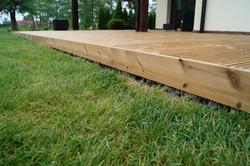 Odvětrání dřevěné terasy