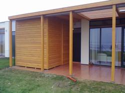 Zahradní domek Eko-logické vily Nymb