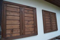 Dřevěné okenice Mladá Boleslav