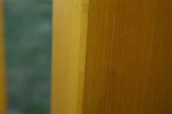 Detail obroušeného KVH hranolu