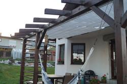 Zastínění terasy Liberec