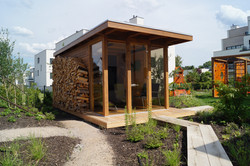 Sauna v zahradě Zlatý Hamr