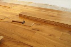 Pokládky dřevěné podlahy