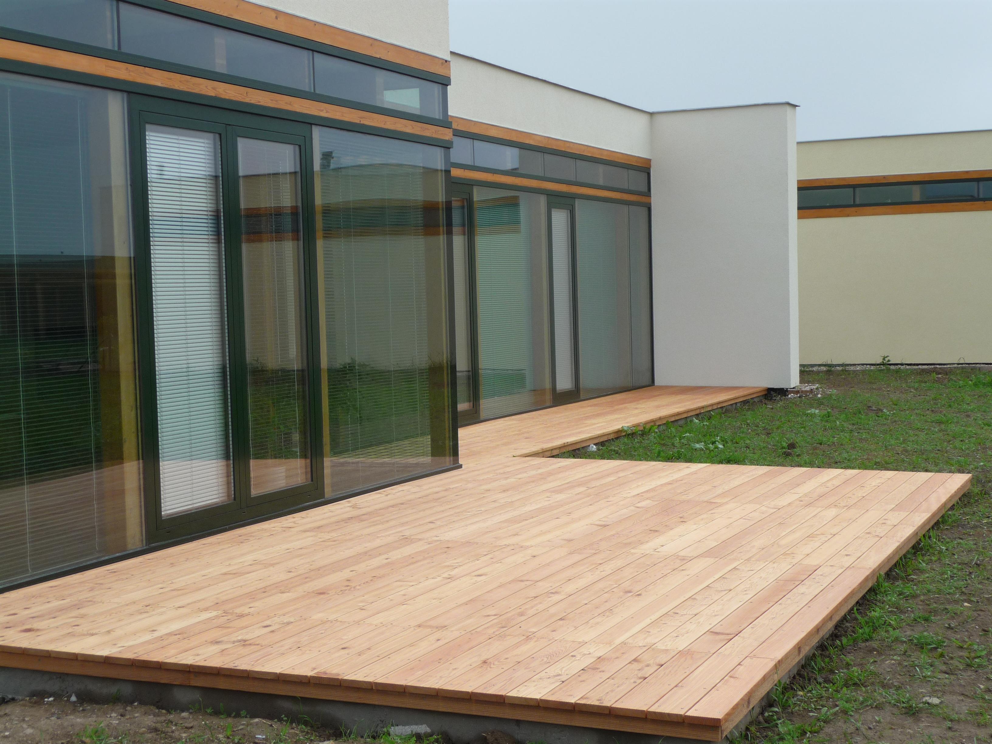 Modřínová terasa