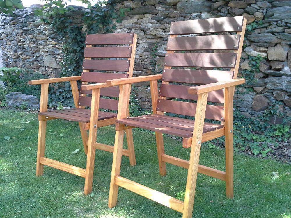Atypické zahradní židle senior