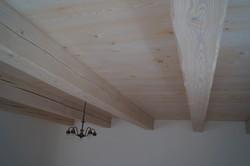 Smrkový strop Kolín