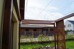 Baldachýn na terase