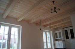 Dřevěný strop Kolín