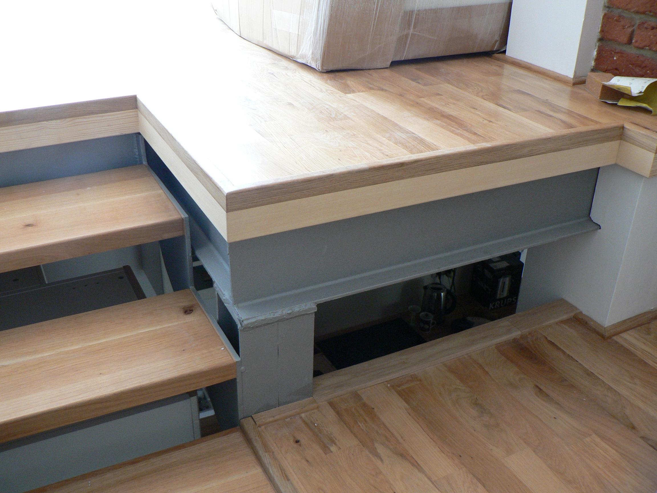 Atypické ukončení podlahy