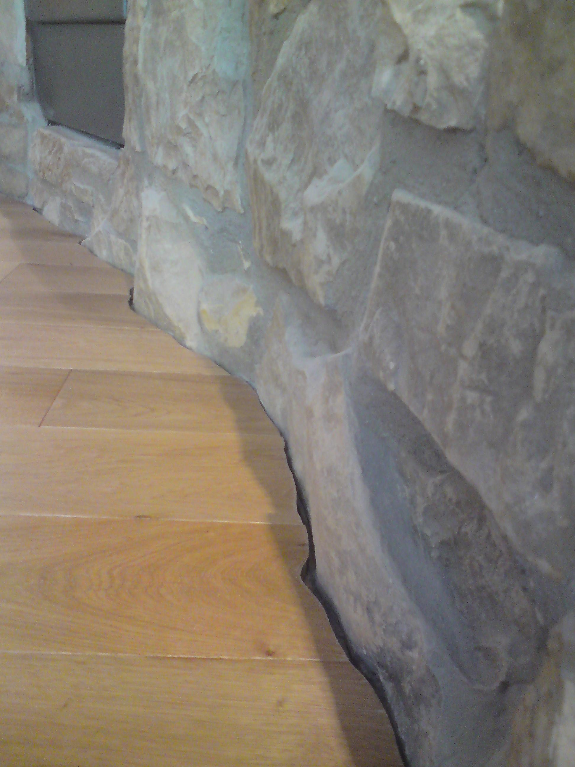 Dilatační spára dřevěné podlahy