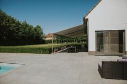 Hliníková pergola se stahovací střechou dálkové ovládání Králův Dvůr Levínský Vršek