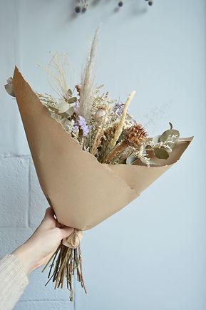 ramo de flores secas
