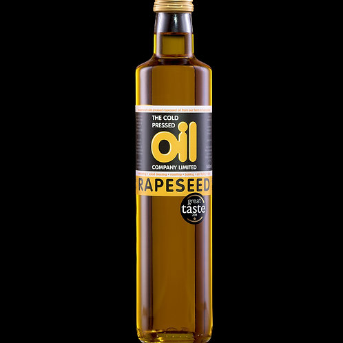 THE COLD PRESS OIL COMPANY PURE RAPESEED OIL 500ml