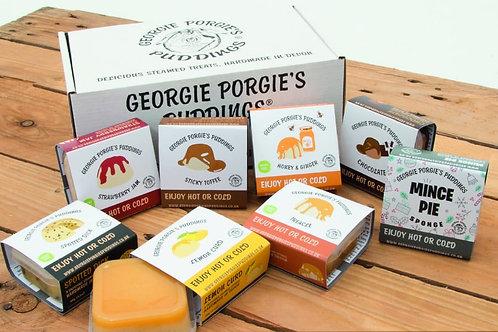 GEORGIE PORGIE'S STEAMED SPONGE PUDDINGS 100g