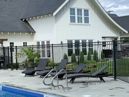 Creating your outdoor living space...