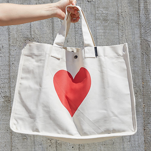 Oversized Bag Heart