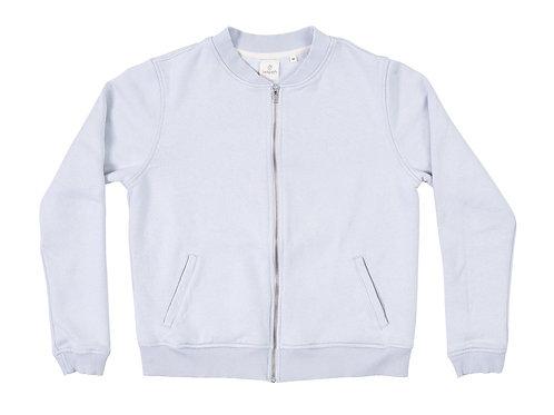 Seapath Zip Jacket - Light Grey